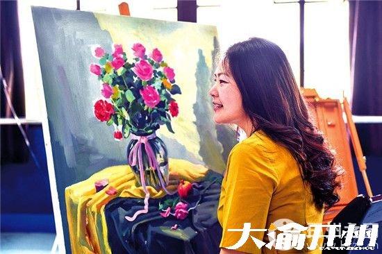 谭江涛:巧用画笔描绘家乡美景 为开州旅游发展作贡献
