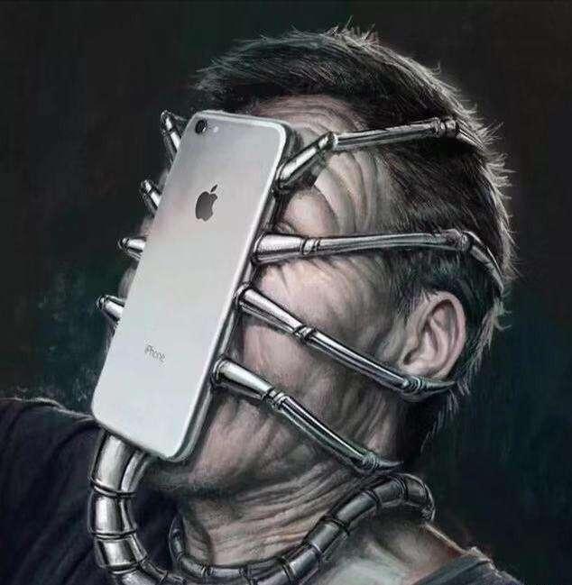 放下手机,和身边的家人、朋友聊聊天