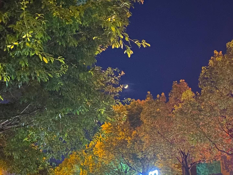 昨晚随手拍的月亮,原来可以这么漂亮